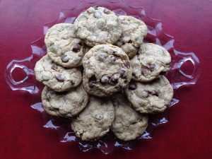 chocolate chip flax cookies 2