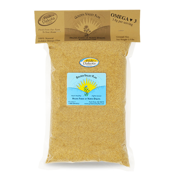 Natural Golden Valley Omega Ground Flax 2.5 pounds