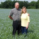 Mark & Esther if blooming flax