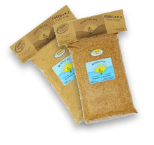 two bags of flax