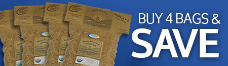 Buy 4 Bags of Flax and Save | Golden Valley Flax