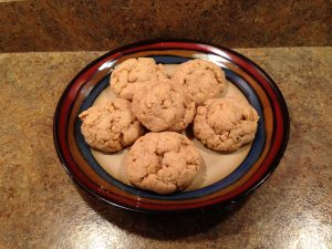 Crispy Shortbread Cookies