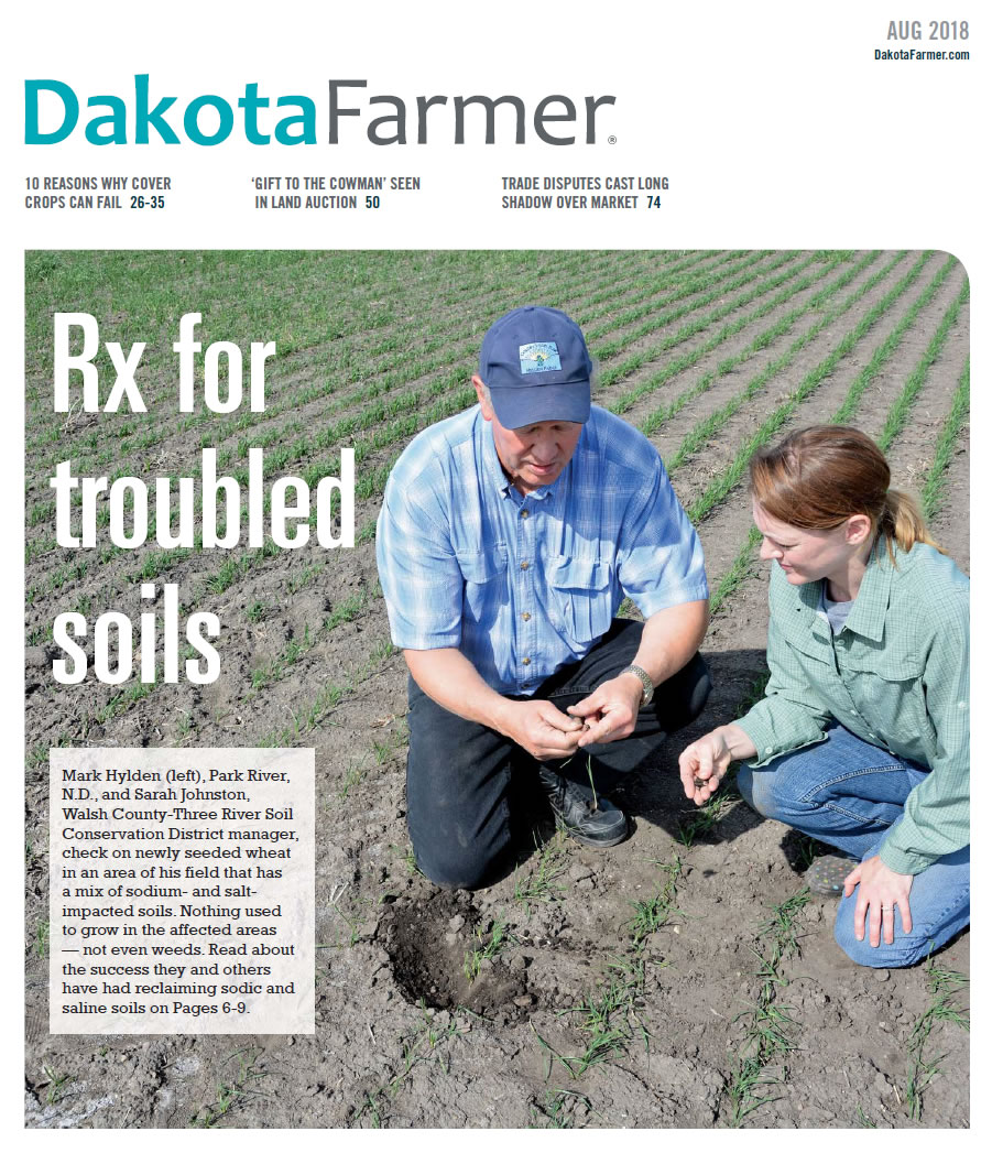 Mark Hylden featured in Dakota Farmer for soil stewardship accomplishments