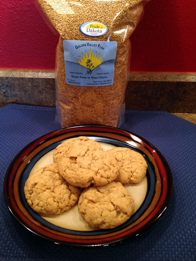 Farmland Flax Cookies
