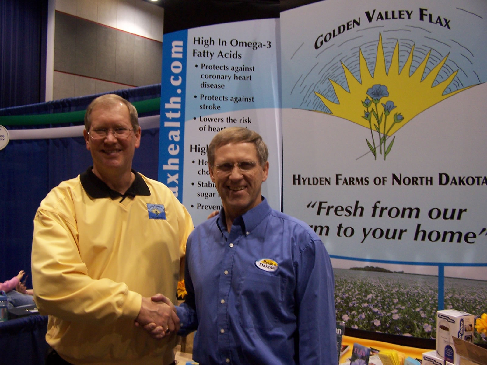 Mark Hylden and North Dakota State Commissioner of Agriculture
