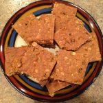 Molasses Oatmeal-Flax Chewies