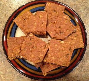 Molasses Flax Bars