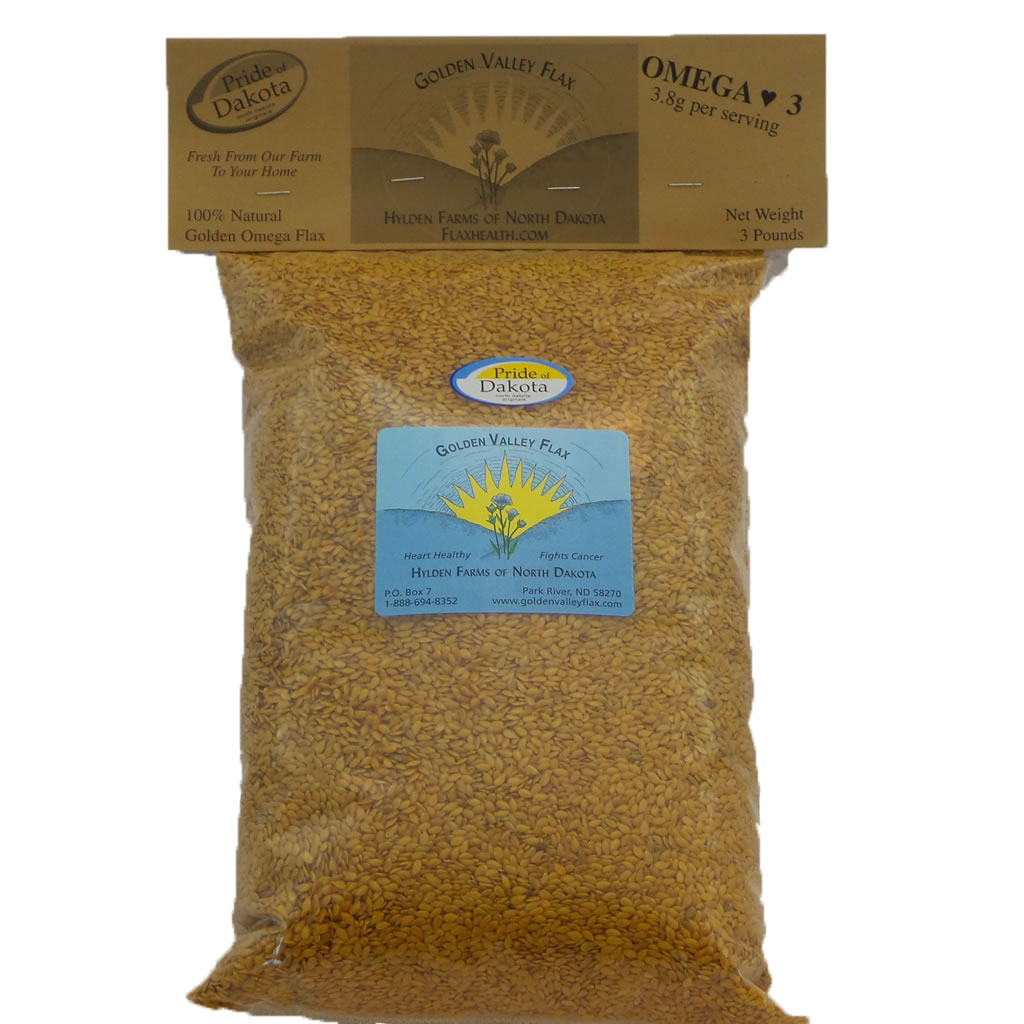 Natural Golden Valley Omega Whole Flax 1 Bag