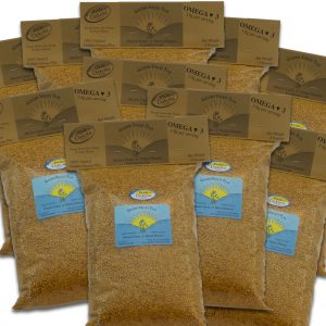 Natural Golden Valley Omega Whole Flax 10 Bags