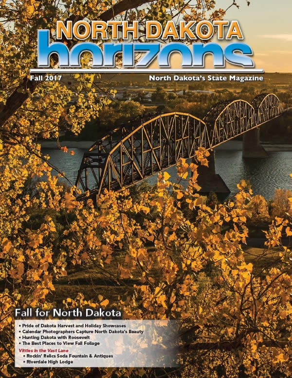 North Dakota Horizons Fall 2017 Cover