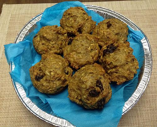Pumpkin Spice Flax Muffins