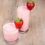 Strawberry Flax Smoothie Flax