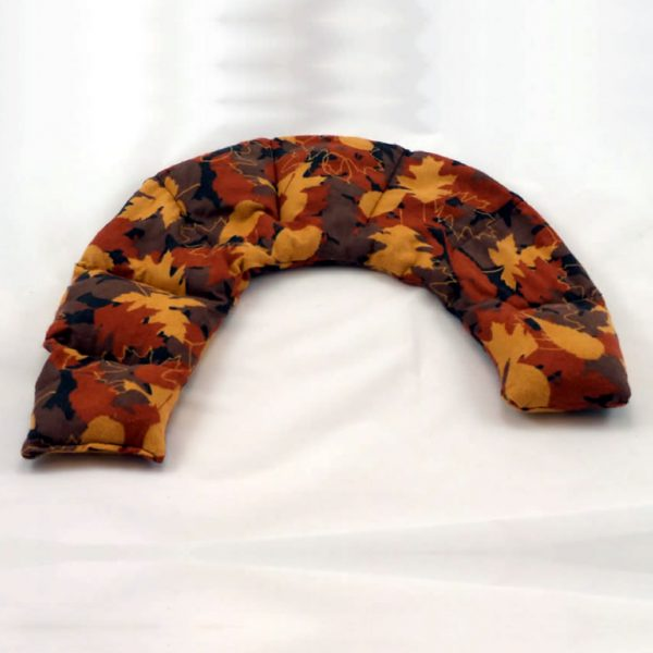 therapeutic flax shoulder pax autumn leaves